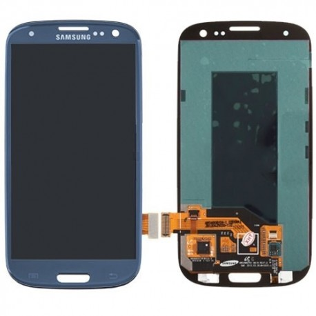Samsung Galaxy S3 Blue Lcd Screen Assembly